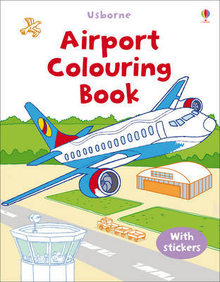 Airport (Usborne First Colouring Book)