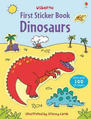 Dinosaurs (Usborne First Sticker Book)