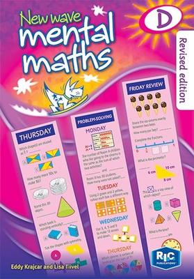 New Wave Mental Maths D Year 4 (Ages 8-9) - RIC-1703