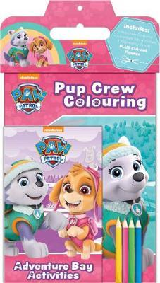 Nickelodeon PAW Patrol Activity Pack: Includes Pup Crew Colouring, Adventure Bay Activities, 4 Colouring Pencils PLUS Cut-out Figures