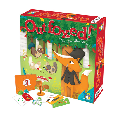 Outfoxed! A Co-operative Whodunit Game