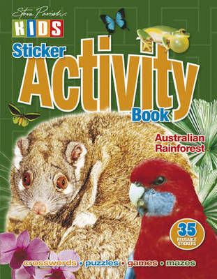 Australian Rainforest Sticker Activity Book