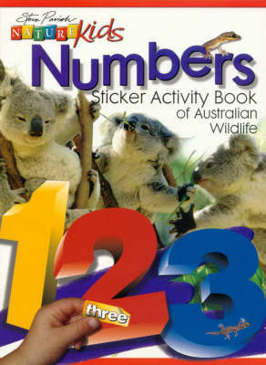 Nature Kids Numbers Sticker Activity Book of Australian Wildlife