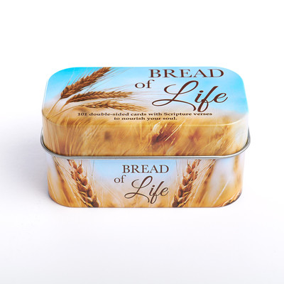 Tin Bread of Life Promise Cards