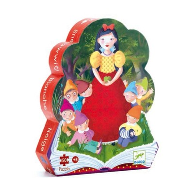 Large 3070900072596snow white 50 piece puzzle