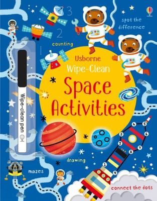 Wipe Clean Space Activities