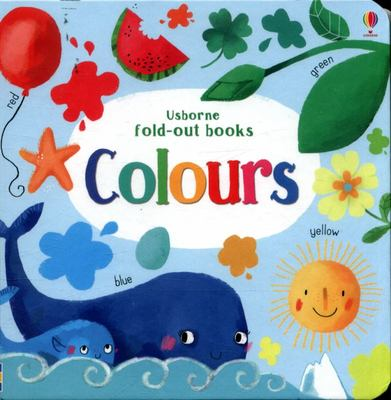 Colours (Fold-Out Board Book)