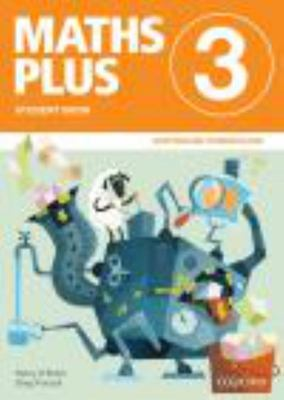 Maths Plus 3 SB and AB AC - Oxford - OLD EDITION