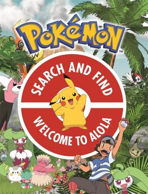 Welcome to Alola (Official Pokemon Search and Find)