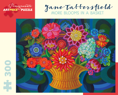 Jane Tattersfield More Blooms in a Basket 300-piece Jigsaw Puzzle