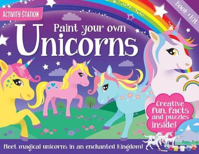 Paint Your Own Unicorns (Activity Station)