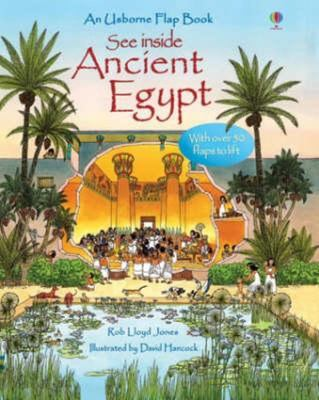 See Inside Ancient Egypt (Usborne Lift-the-Flap Board Book)