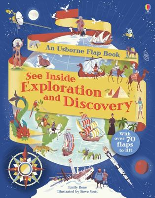 See Inside Exploration and Discovery (Usborne Lift-the-Flap Board Book)