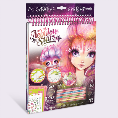 Petulia Creative Sketchbook (Nebulous Stars)