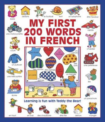 First 200 Words in French (Giant Size)