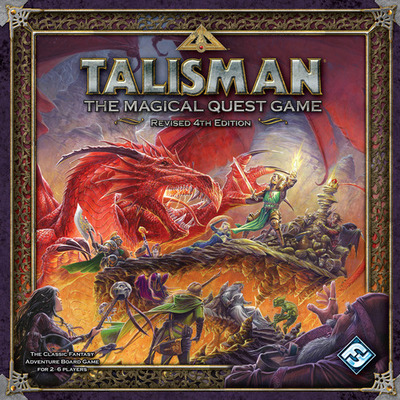 Large talisman board game