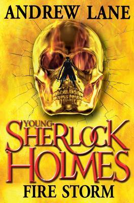 Fire Storm (Young Sherlock Holmes #4)