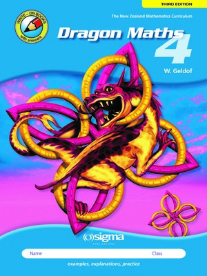 Dragon Maths 4 (Year 6) - 3rd Edition (2018)
