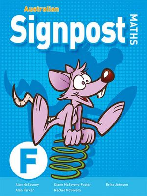 Australian Signpost Maths F Student Activity Book 3rd edition 2018