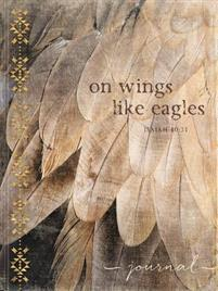 Journal On Wings Like Eagles Feathers
