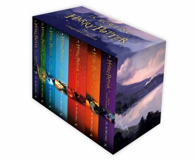 Harry Potter Box Set: The Complete Collection (#1-7 PB slipcase)