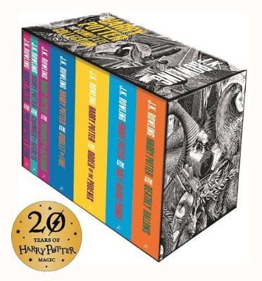 Harry Potter: The Complete Collection (Adult Cover)