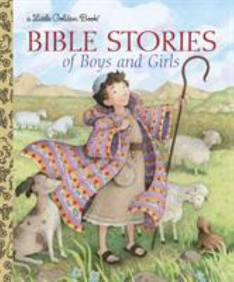 LGB Bible Stories of Boys and Girls (Little Golden Book)