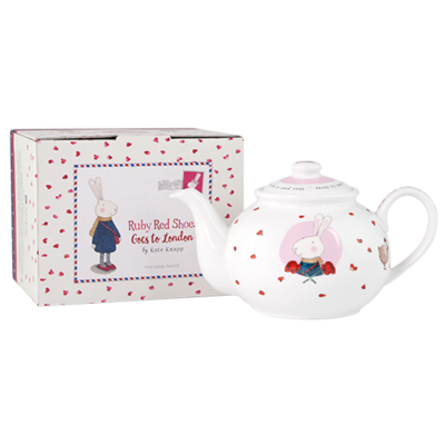 Small Teapot Ruby Red Shoes