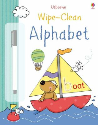 Alphabet (Usborne Wipe-Clean)