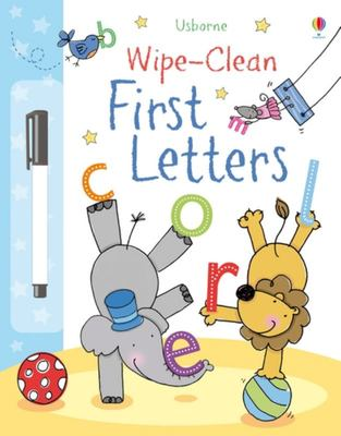 First Letters (Usborne Wipe-Clean)