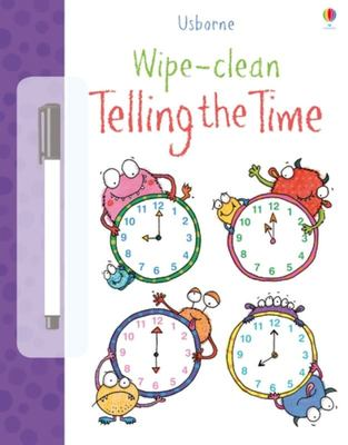 Telling the Time (Usborne Wipe-Clean)