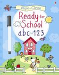 Get Ready for School ABC and 123 (Usborne Wipe-Clean)