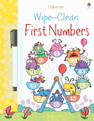 First Numbers (Usborne Wipe-Clean)