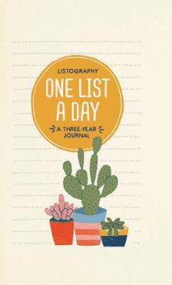 Listography: One List a Day: A Three-Year Journal