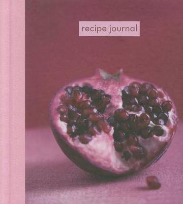Recipe Journal - Pomegranate
