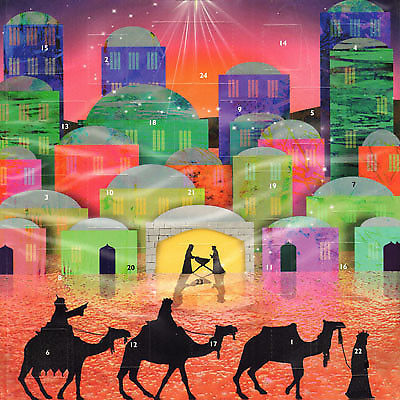 Three Kings Journey to Bethlehem Advent Calendar