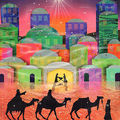 Advent Calendar Three Kings Journey to Bethlehem