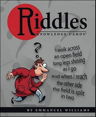 Riddles a Quiz Deck (Knowledge Cards )