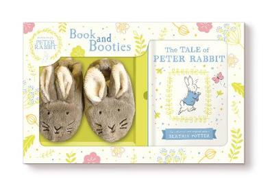 Tale of Peter Rabbit (Book and First Booties Gift Set)