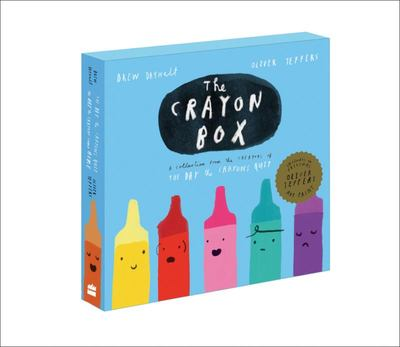 The Crayon Box: The Day the Crayons Quit and The Day the Crayons Came Home (2 books in a slipcase cover)