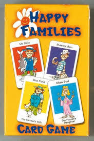 Large happy families card game