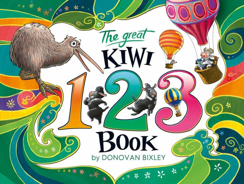 The Great Kiwi 123 Book (PB)
