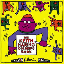 Keith Haring Colouring Book