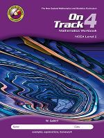 On Track 4: Mathematics Workbook NCEA Level 2 - Mid-band Student (2nd edition)