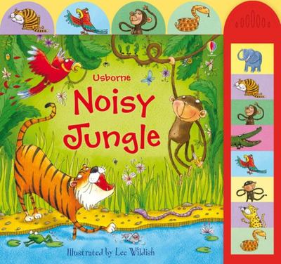 Noisy Jungle (Usborne Noisy Book)