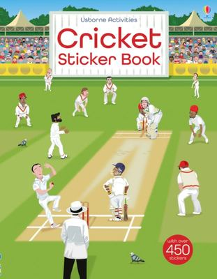 Cricket (Usborne Sticker Book)