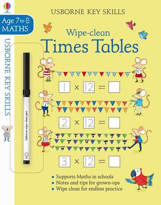Wipe-Clean Times Tables