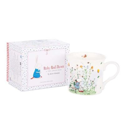 Crickets Wide Flare Mug Ruby Red Shoes