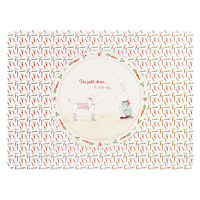 Placemat Petit Chien Ruby Red Shoes