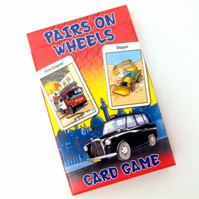 Pairs on Wheels Card Game